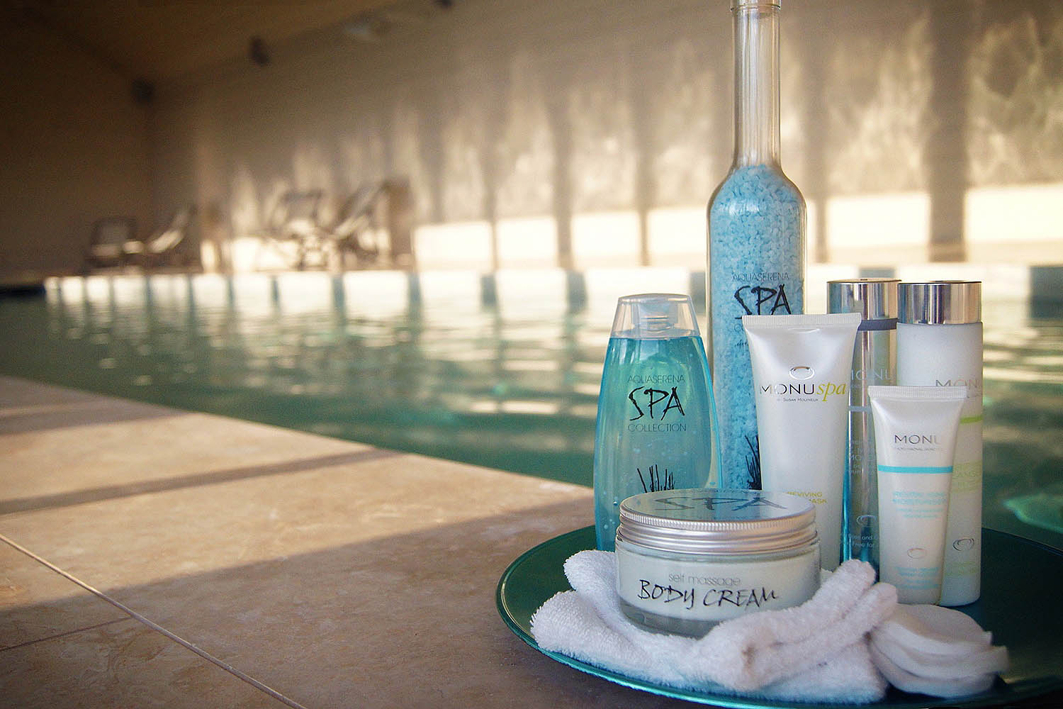 Lilycombe Farm spa treatment products